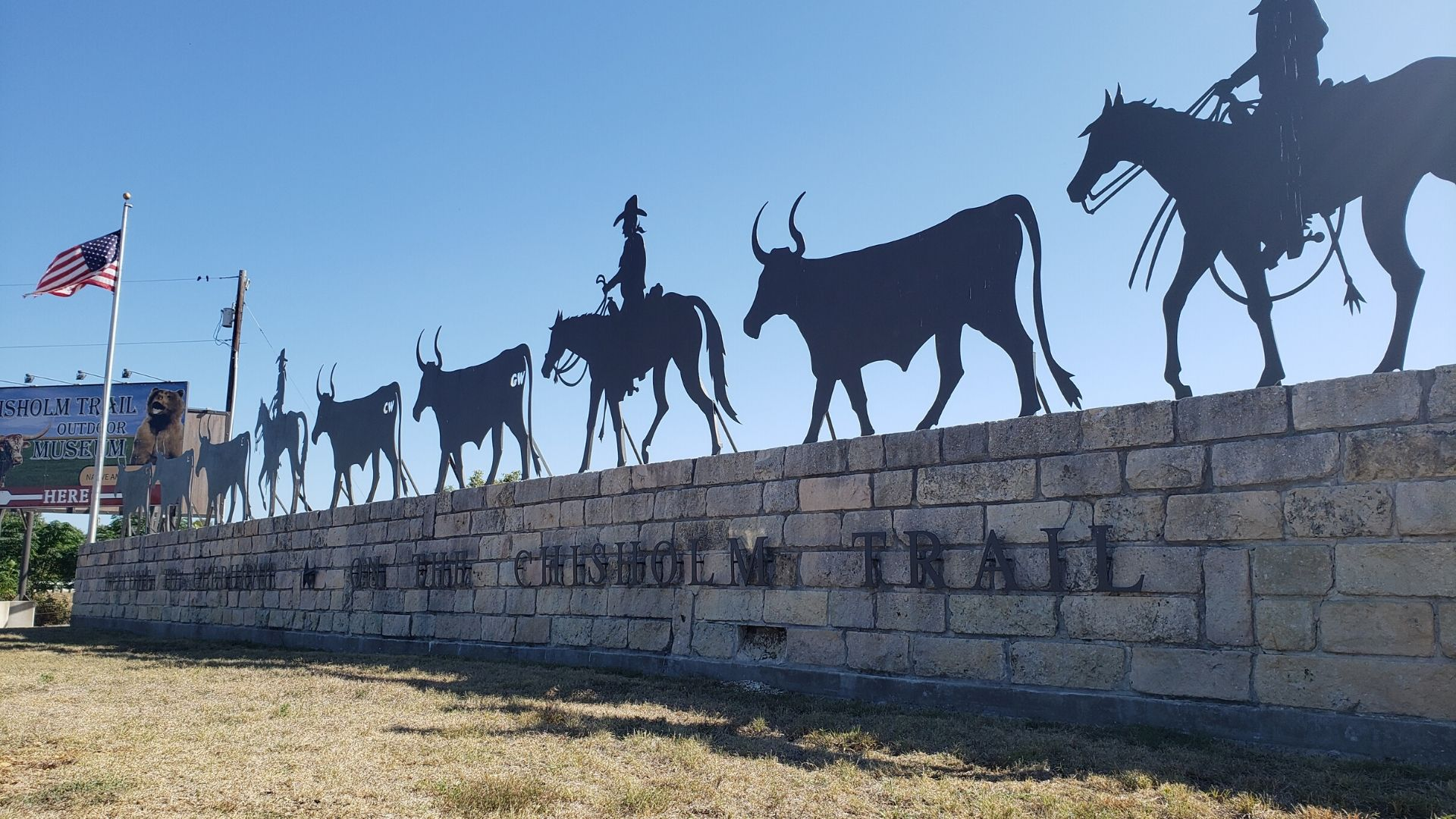 The Chisholm Trail Outdoor Museum
